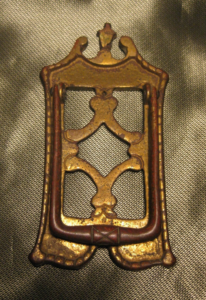 Vintage Small Bronze  Door Knocker