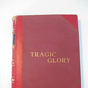 Rare Autographed Copy of Tragic Glory, Bullfighting Biography, 1960, by Valeriano Salceda ""