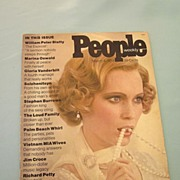 People Magazine First Issue - Scarce Very Good Condition