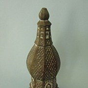 Vintage Heavy Brass or Bronze Souvenir Bell marked de Dinant