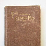 Book:  The Garden of Eden, New-Church Popular Series