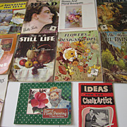 Collection of Vintage 11 Art Instruction Books