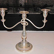 SALE Silverplate Candelabra