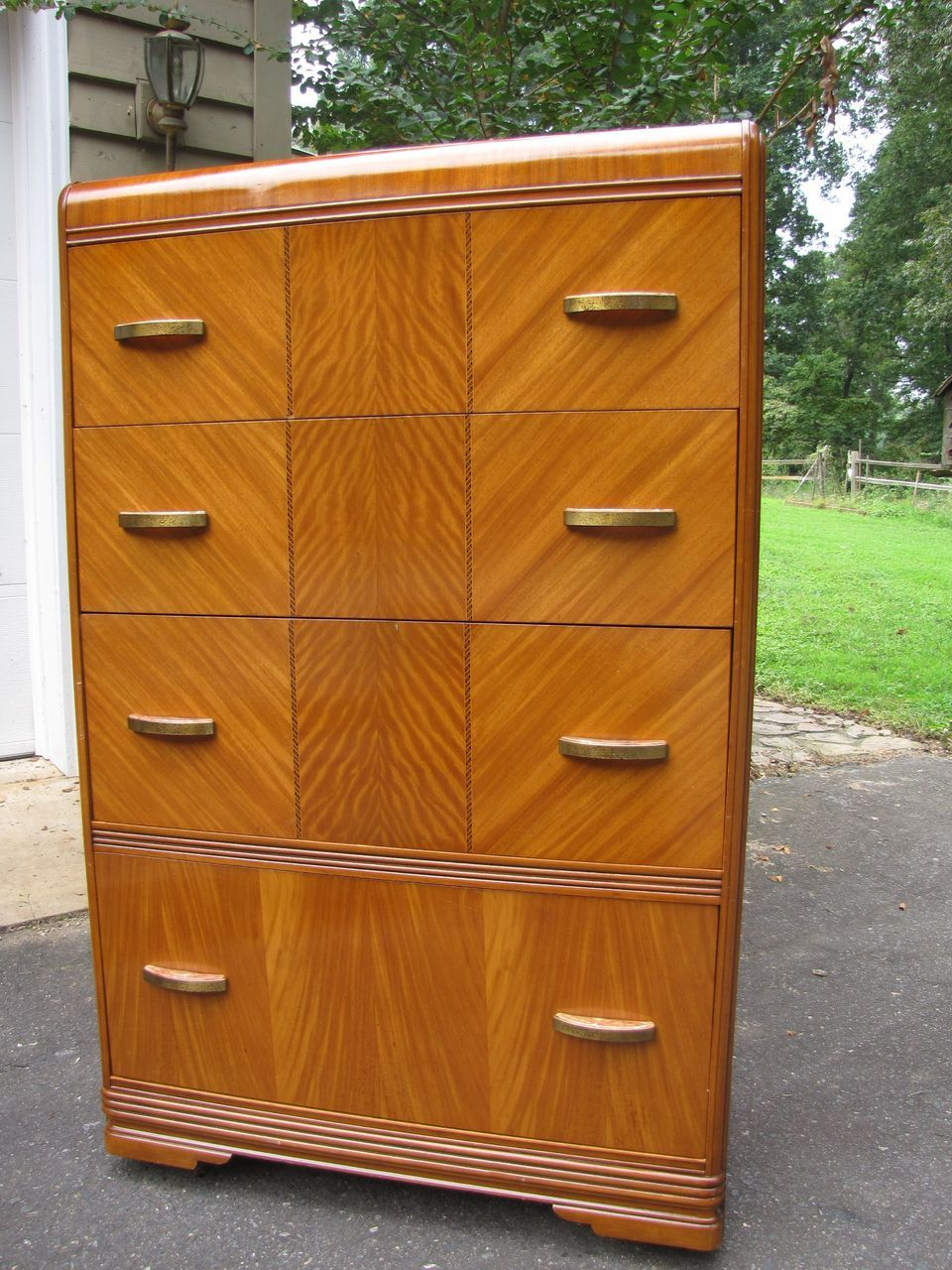 1940s Art Deco Bedroom Furniture Art Deco Waterfall Bedroom