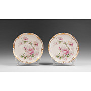 Pair of Haviland Limoges Luncheon Plates
