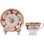 Royal Albert English Bone China Cup & Saucer