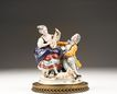 Porcelain Figurine of Courting Couple