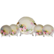 Hand Painted Morimura Nippon 5 Piece Cake Set