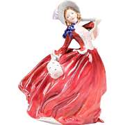 Royal Doulton Figurine, Autumn Breezes, Rd. No. 835666