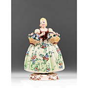 Italian Ceramic Hand Painted Figurine