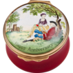 1970 � 1979 Bilston And Battersea Halcyon Days Enamel Anniversary Box