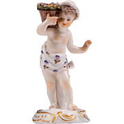 Royal Vienna Style 19th Century Porcelain Figurine