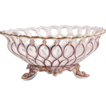 Early 19th C. Paris Porcelain Reticulated And Footed Bowl