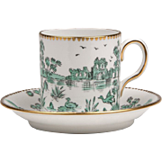 Royal Chelsea China Demitasse Cup & Saucer, 1912 � 1951