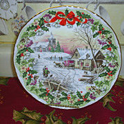 REDUCED Royal Albert Christmas Plate
