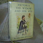 REDUCED Victoria, The Widow and Her Son, Bolitho, 1st
