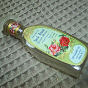 REDUCED WONDERFUL 'Jack Rose' vintage perfume bottle