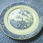"REDUCED Bristol Pottery, Eng. ""Mallard"" blue transferware"