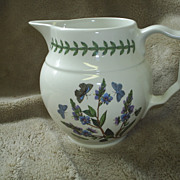Vintage Portmeirion milk pitcher, blue