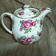James Kent 'Rosa' Chintz small teapot