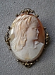 Gorgeous Victorian Cameo Pendant / Pin