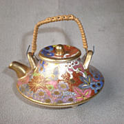 Charming Miniature Japanese Satsuma Teapot