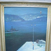 Original Oil Painting by Swedish Artist - Bertel Nordstrom