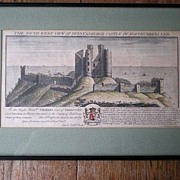 Antique Samuel & Nathaniel Buck Castle Engraving - Dunstanburgh