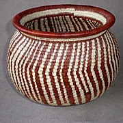 Gorgeous Wounaan Panama Native Basket