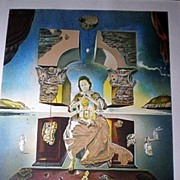 Signed Salvador Dali Lithograph - Madonna of Port Ligat