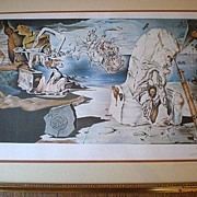 Magnificent Signed / Numbered Salvador Dali Lithograph