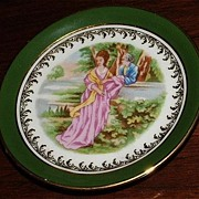 Small Limoges Decorative Plate