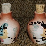 Ma And Pa From The Ozarks Salt And Pepper Shakers
