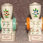 Vintage Coffee Grinder Salt And Pepper