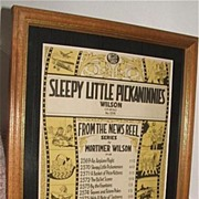 "1929 ""Sleepy Little Pickaninnies"" News Reel Series Sheet Music / Americana"