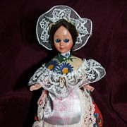"6 1/2"" Venezia Souvenir Doll / Sleep Eyes"