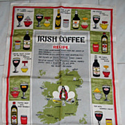 Irish Coffee Linen Towel