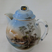 Delightful Japanese Hand Painted Teapot For One