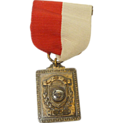 1938 LSA Football Medal Pin