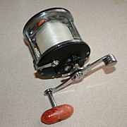 Vintage Penn 65 Long Beach Ocean & Bay Trolling Reel USA Made
