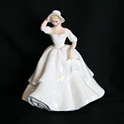 Royal Doulton Samantha Lady Figurine HN 2954 Full Size