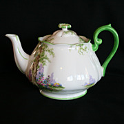 Super Rare Royal Albert Greenwood Tree Large 6 Cup Teapot