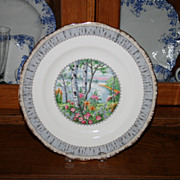 Royal Albert Silver Birch pattern Dinner 10 1/4� Plates