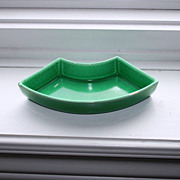 Vintage Fiestaware Original Light Green Relish Tray Side Insert # 1
