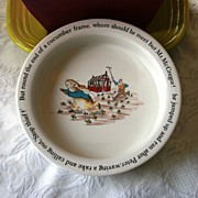 Wedgwood Beatrix Potter Peter Rabbit & Mr. McGregor Porridge Bowl