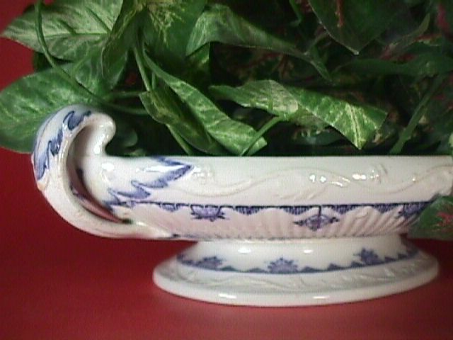 Ironstone Dish in Blue