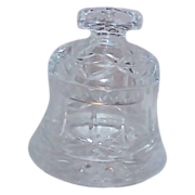 SALE SALE - SALE - SALE Crystal Bell Shaped Lidded Candy Bowl