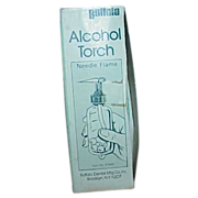 REDUCED Vintage Alcohol Torch