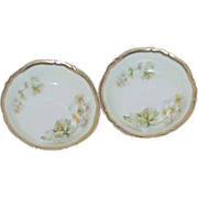 P. K. Silesia German Porcelain Fruit Bowl