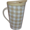 Wonderful Old Raffiaware Melmac Ice Tea Pitcher